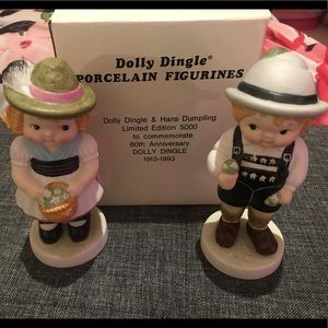 🎀Dolly Dingle 80th Anniversary Figurines🎀